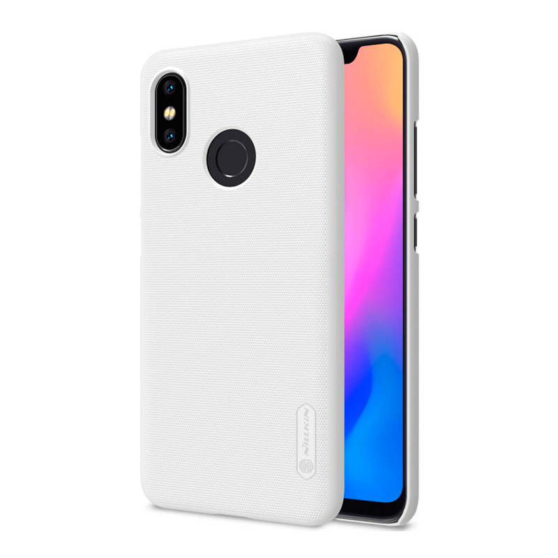 Защитный чехол Nillkin Super Frosted Shield для Xiaomi Mi 8 White защитный чехол nillkin super frosted shield для xiaomi mi a2 white