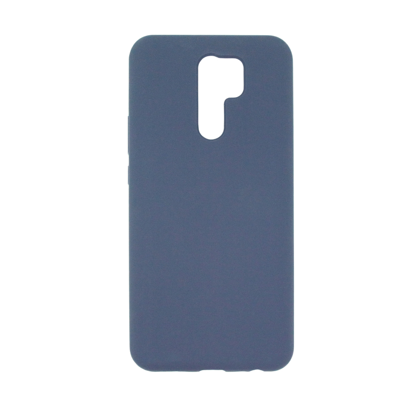 Liquid Silicone Hard для Xiaomi Redmi 9 (синий)