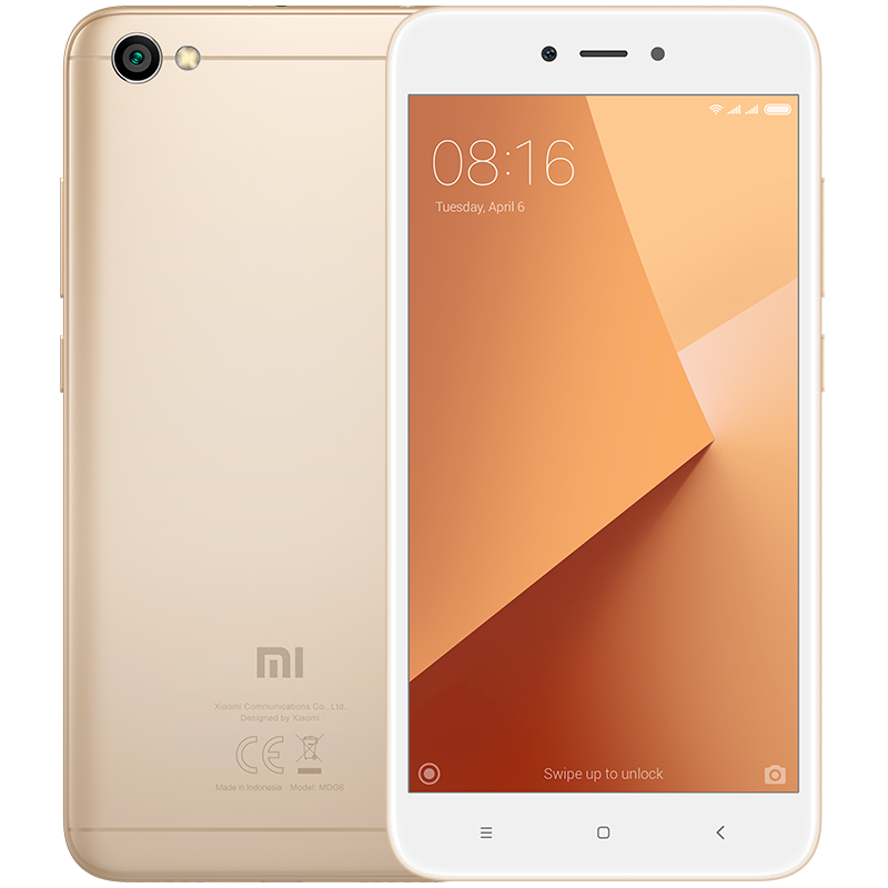 Redmi Note 5A Gold смартфон xiaomi redmi 4x 16gb gold
