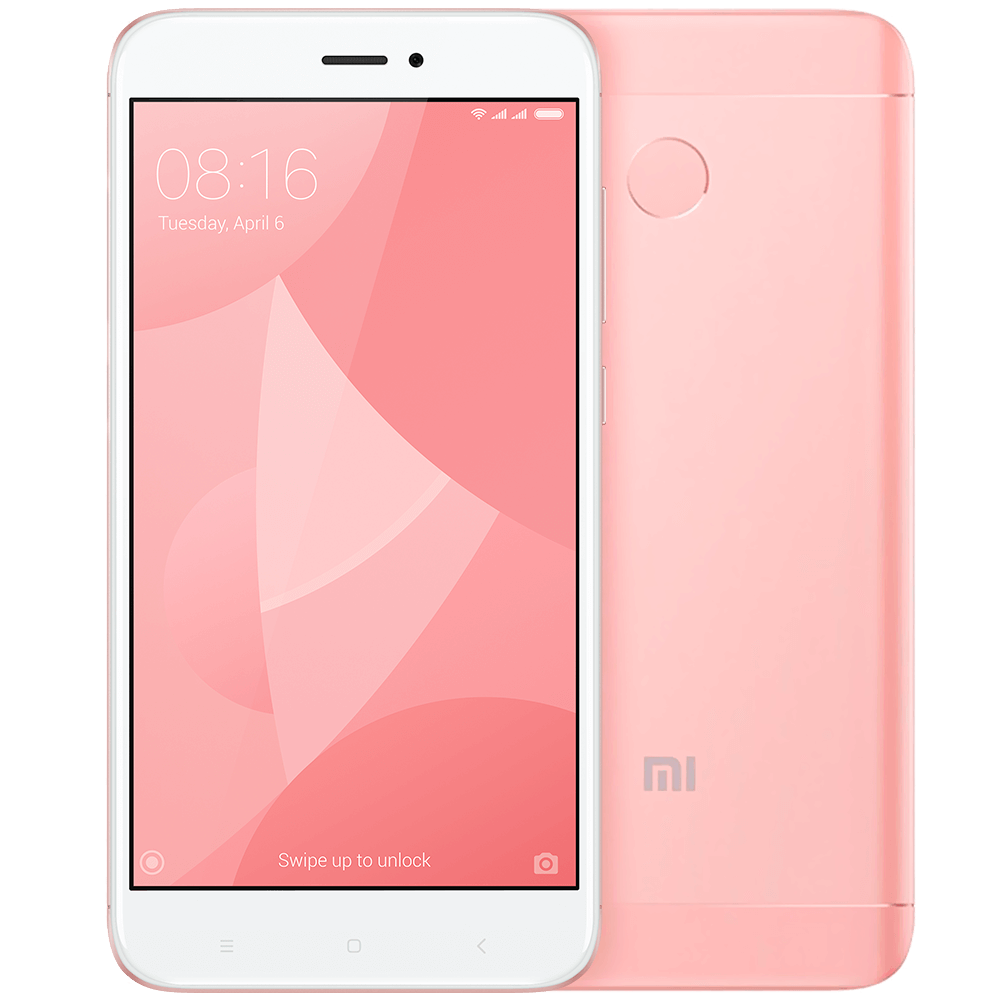 Redmi 4X 16GB Pink сотовый телефон xiaomi redmi 4x 16gb gold