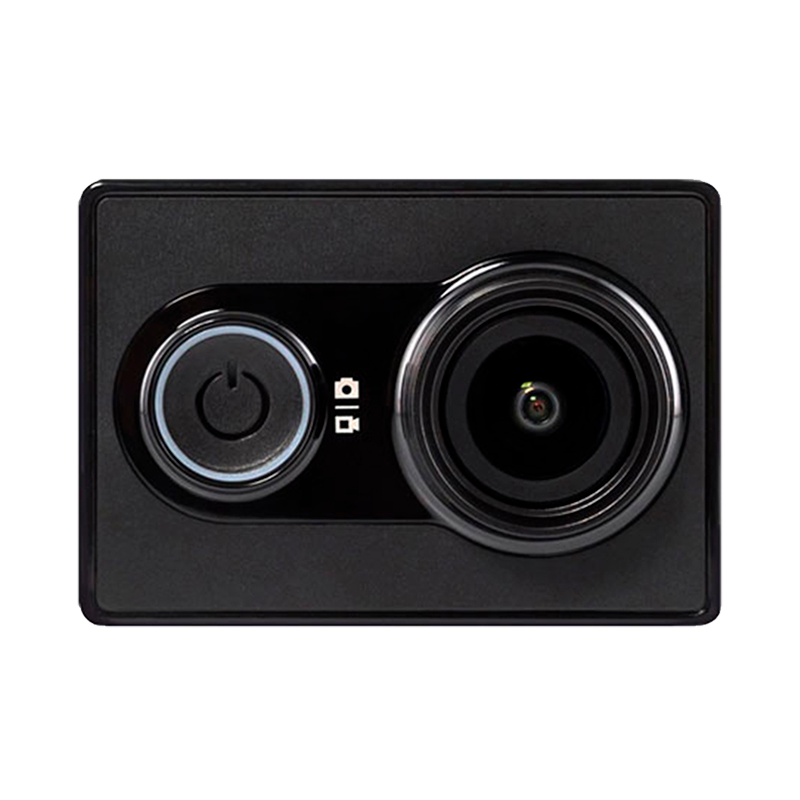 YI Экшн камера Black ip камера xiaomi yi outdoor camera 1080p white eu international version