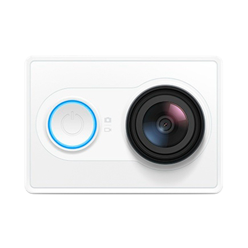 YI Экшн камера White ip камера xiaomi yi home camera 720p black eu international version