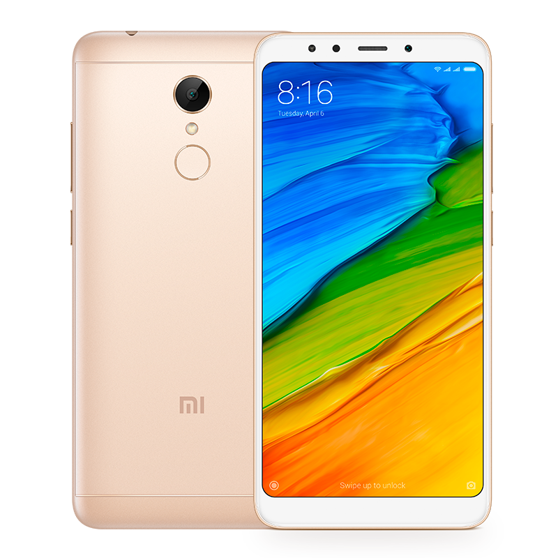 Redmi 5 3/32GB Gold цена и фото