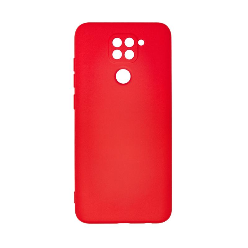 Microfiber Case для Xiaomi Redmi Note 9 (красный)
