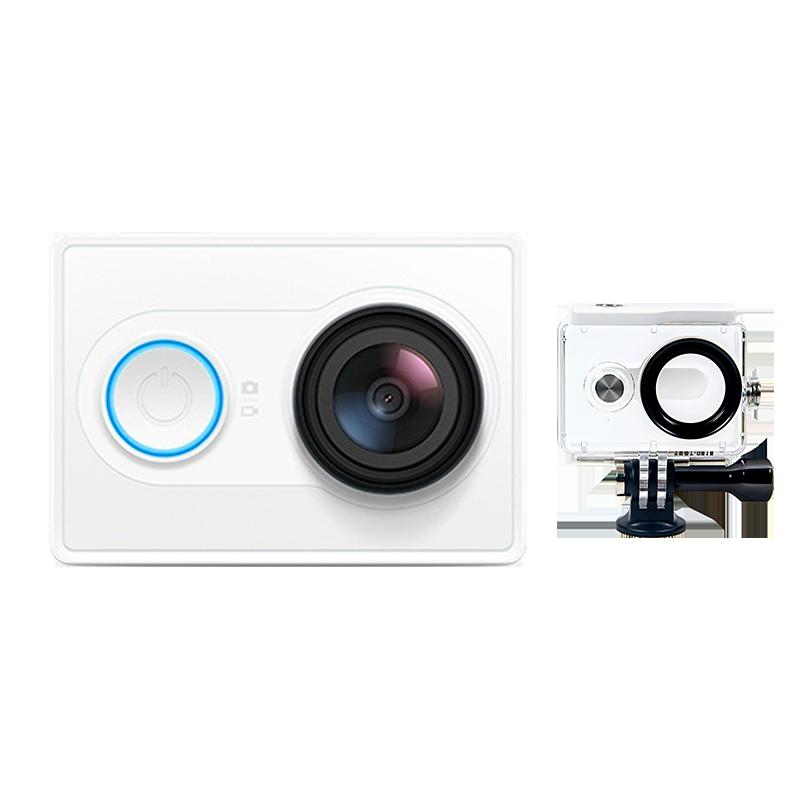 YI Экшн камера комплект с аквабоксом White