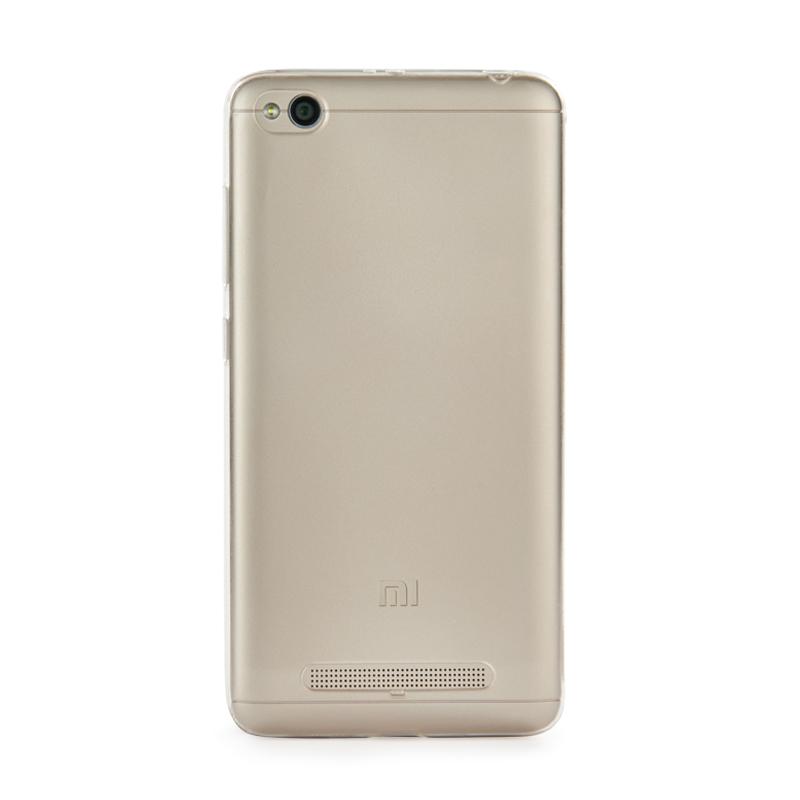 Силиконовая накладка – кейс для Xiaomi Redmi 4A прозрачный цена и фото