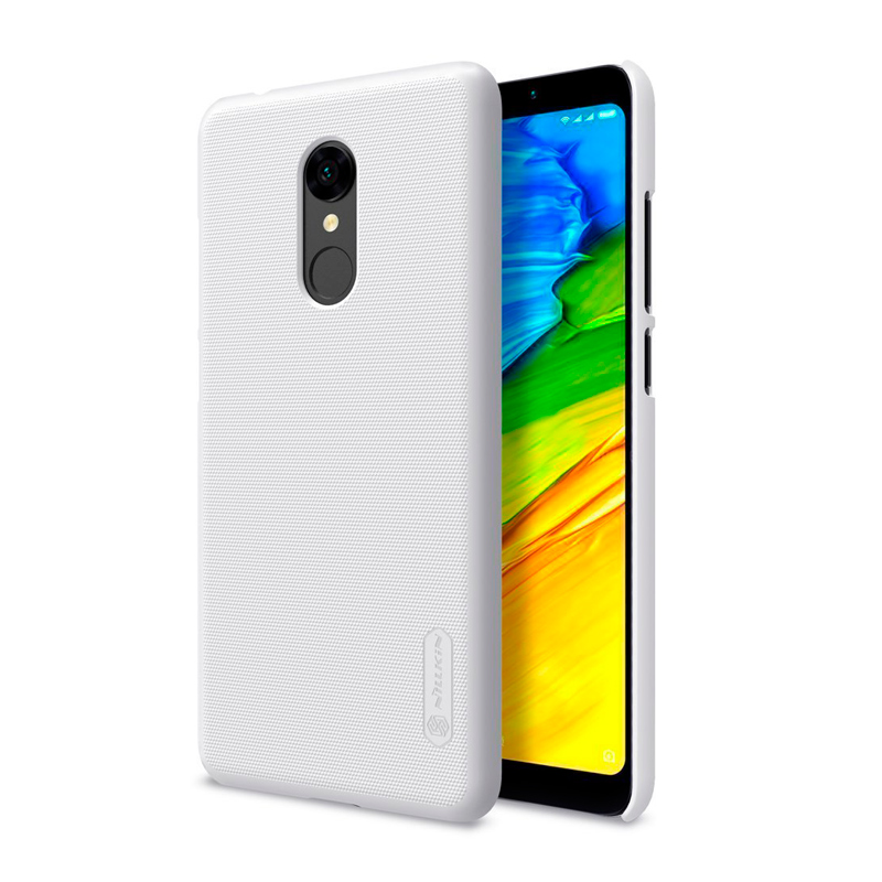 Чехол Nillkin Super Frosted Shield для Xiaomi Redmi 5 White защитный чехол nillkin super frosted shield для xiaomi mi 9 gold