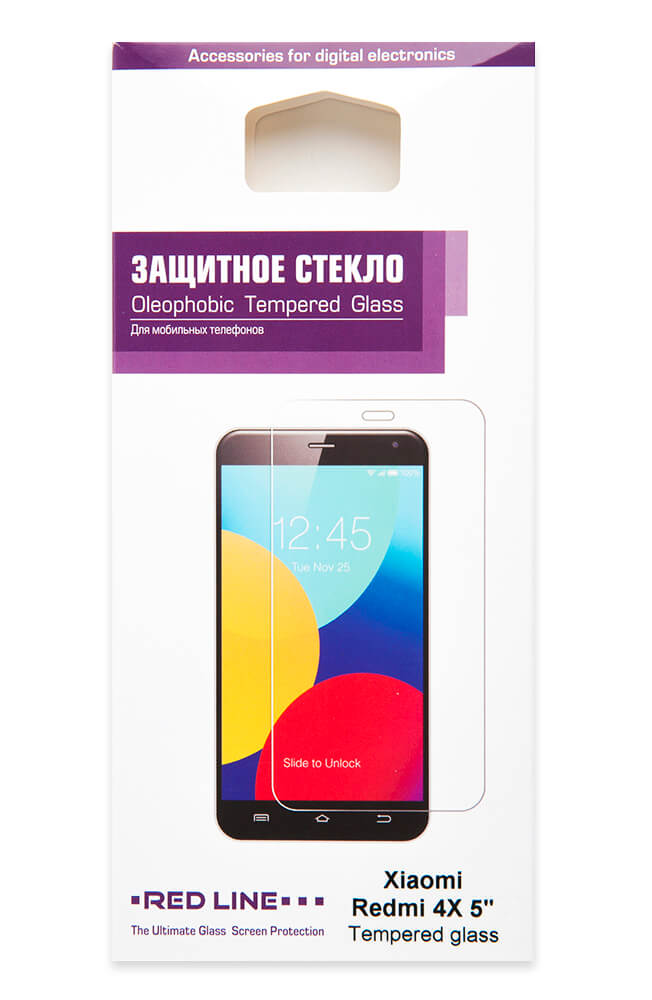 Защитный экран Xiaomi Redmi 4X 5 tempered glass original xiaomi tempered glass for xiaomi redmi note 5