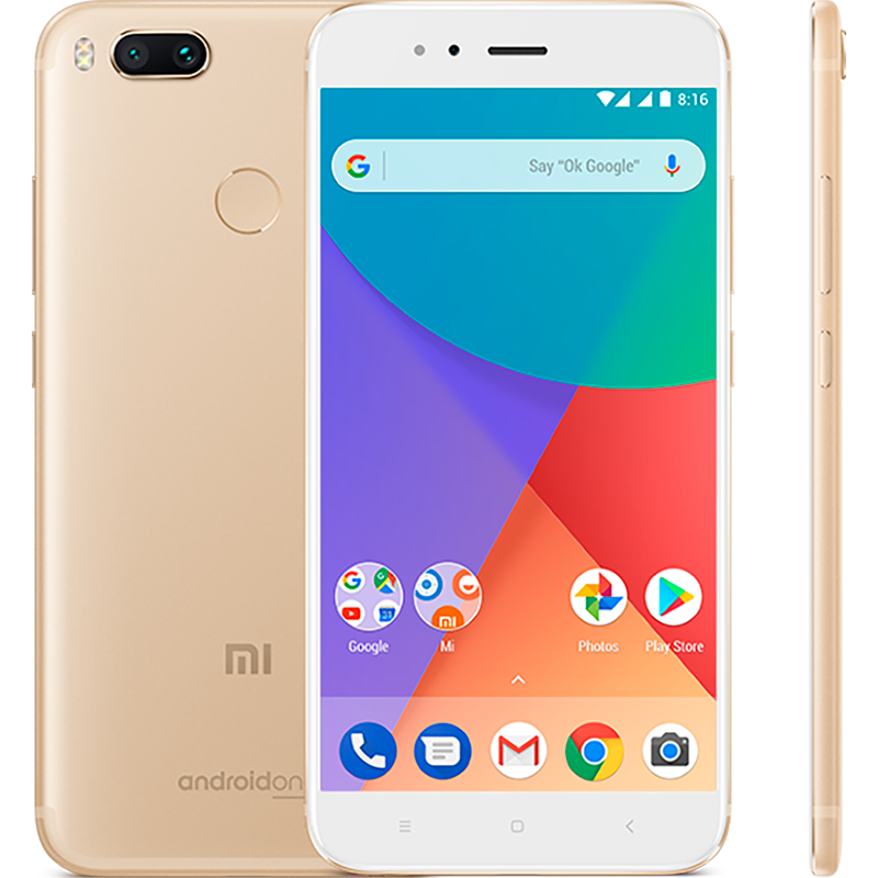 Mi A1 64GB Gold package xiaomi mi 5s 3gb 64gb smartphone gold