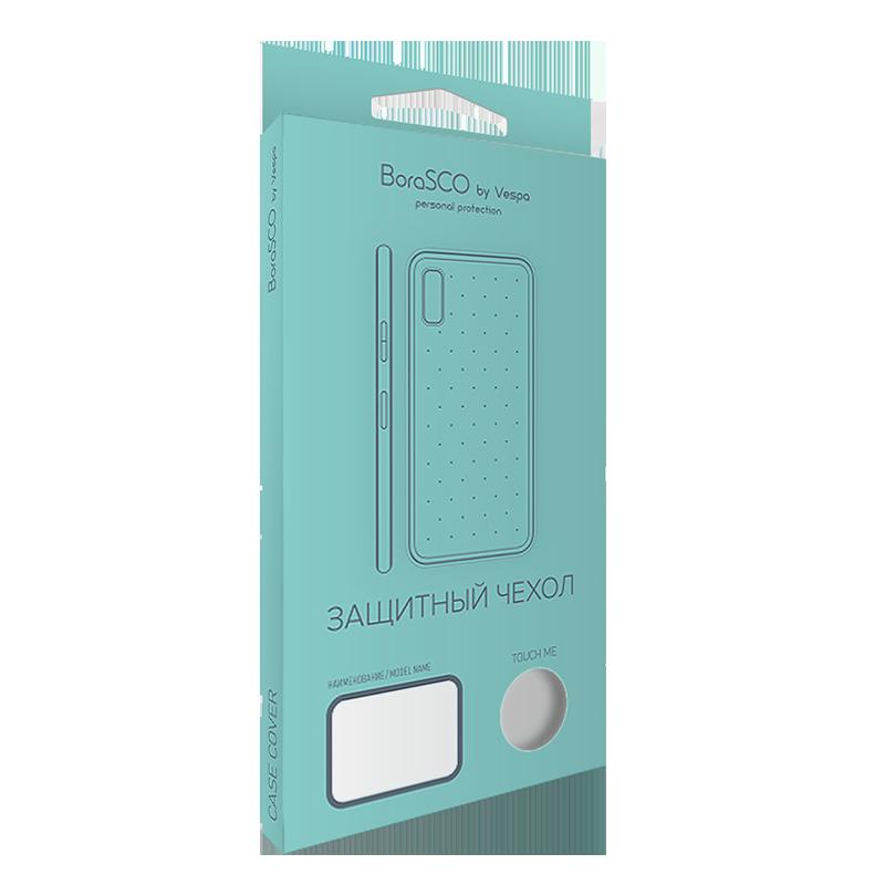 Силиконовый чехол BoraSCO для Xiaomi Redmi 6A защитное стекло borasco vsp flex для xiaomi redmi s2