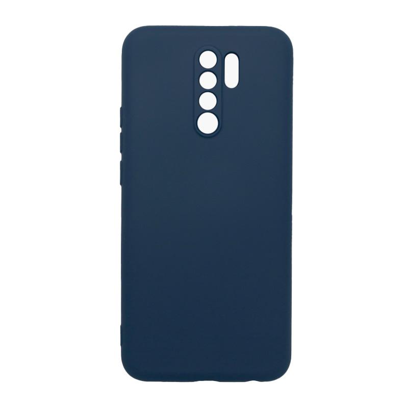 Фото - Чехол BoraSCO для Redmi 9 Microfiber Case (синий) чехол borasco microfiber case для xiaomi redmi 9a черный