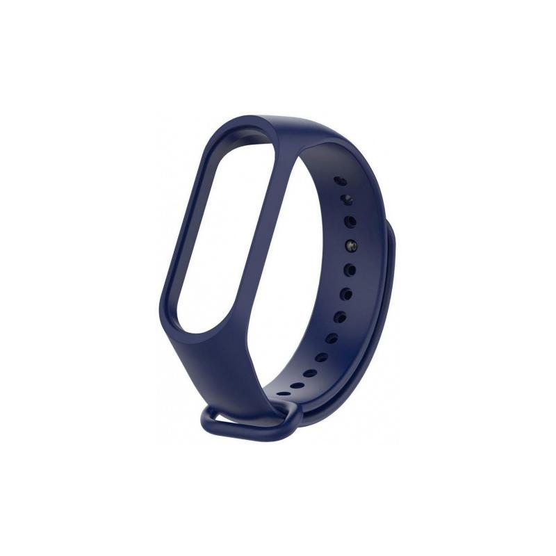 Силиконовый ремешок для Xiaomi Mi Band 3 Untamo Blue aксессуар силиконовый ремешок red line for xiaomi mi band 3 turquoise