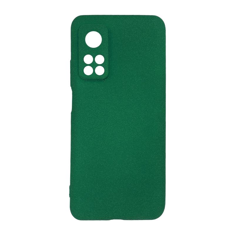 Fluff TPU Hard для Xiaomi Mi 10T/Mi 10T Pro (зеленый)