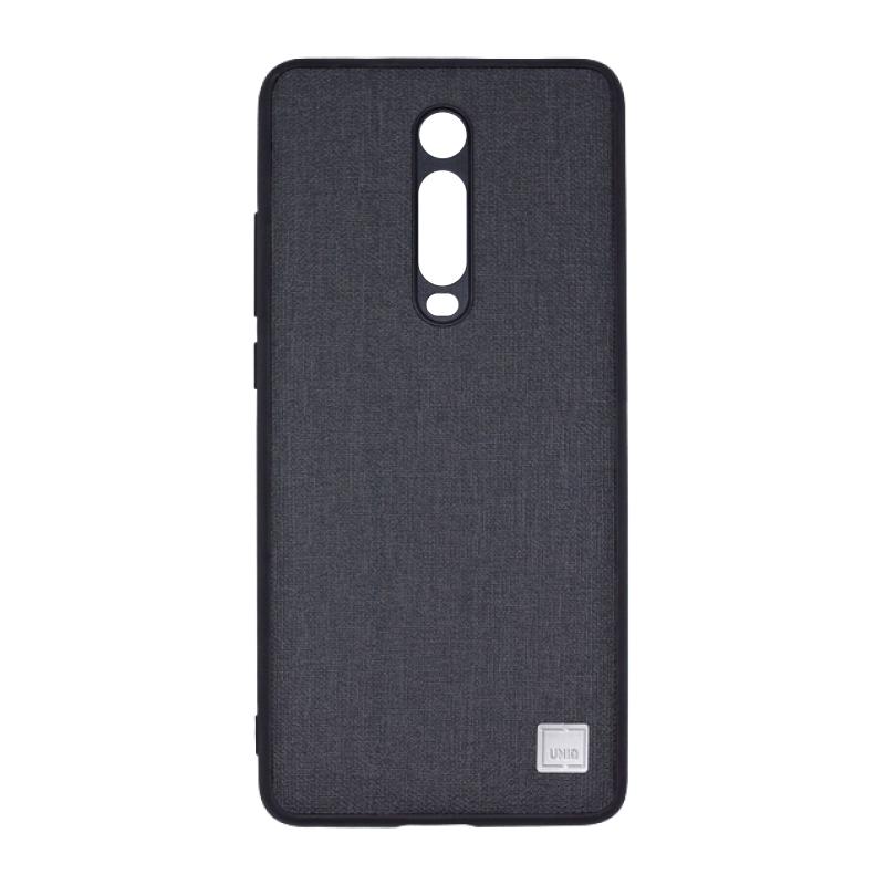 Uniq Glacier Luxe Kanvas для Xiaomi Mi 9T (черный) фото