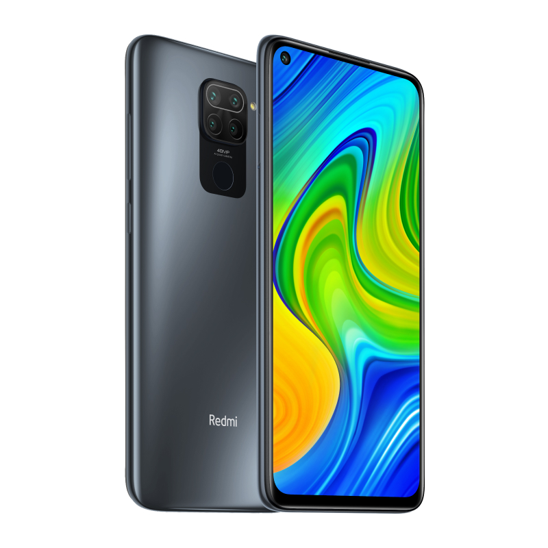Redmi Note 9 4/128GB (черный)