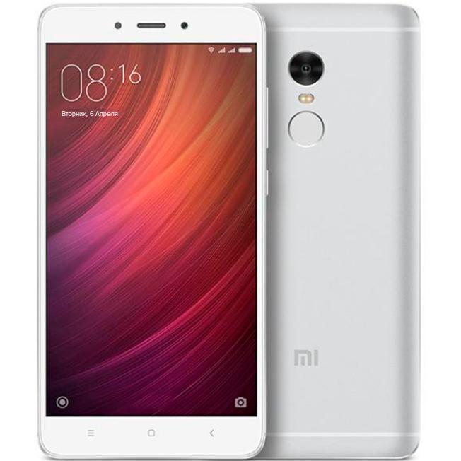 Redmi Note 4 32GB Silver смартфон xiaomi redmi note 4 32gb black