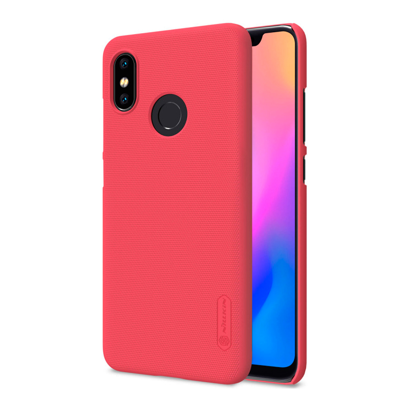Защитный чехол Nillkin Super Frosted Shield для Xiaomi Mi 8 Red защитный чехол nillkin super frosted shield для xiaomi mi a2 white