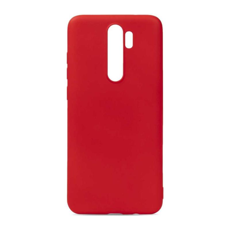 NewLevel Fluff TPU Hard для Xiaomi Redmi Note 8 Pro (красный) фото