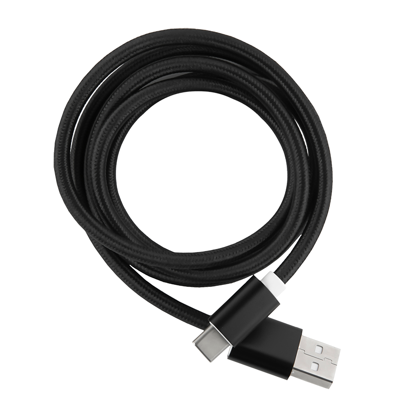 Дата-кабель Red Line USB - Type-C 2.0 Black кабель red line usb – apple lightning black