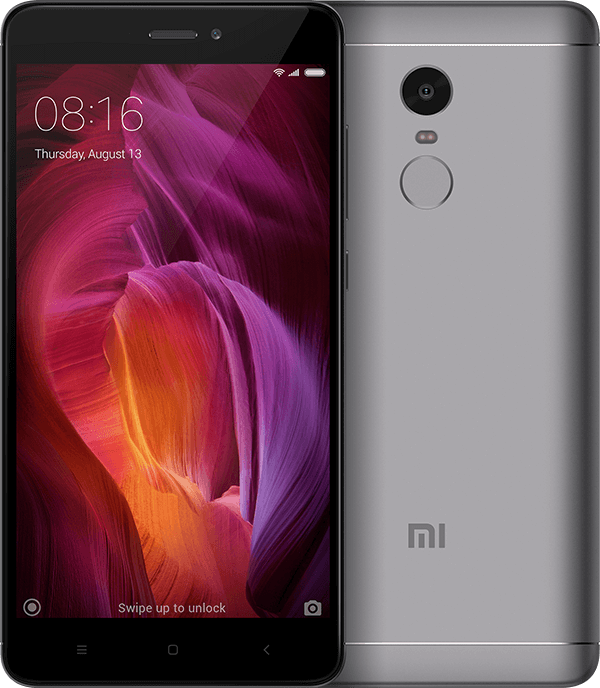 Redmi Note 4 4+64GB Gray смартфон xiaomi redmi s2 4 64gb grey