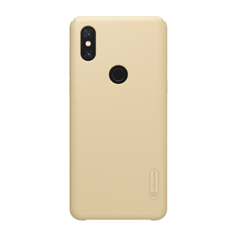 Защитный чехол Nillkin Super Frosted Shield для Mi Mix 3 Gold защитный чехол nillkin super frosted shield для xiaomi mi 9 gold