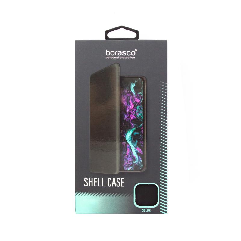 Чехол BoraSCO Shell Case для Xiaomi Redmi 9A (черный)