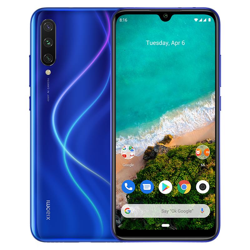 Mi A3 4/64GB (синий) телефон xiaomi mi a3 4gb 64gb серый global version