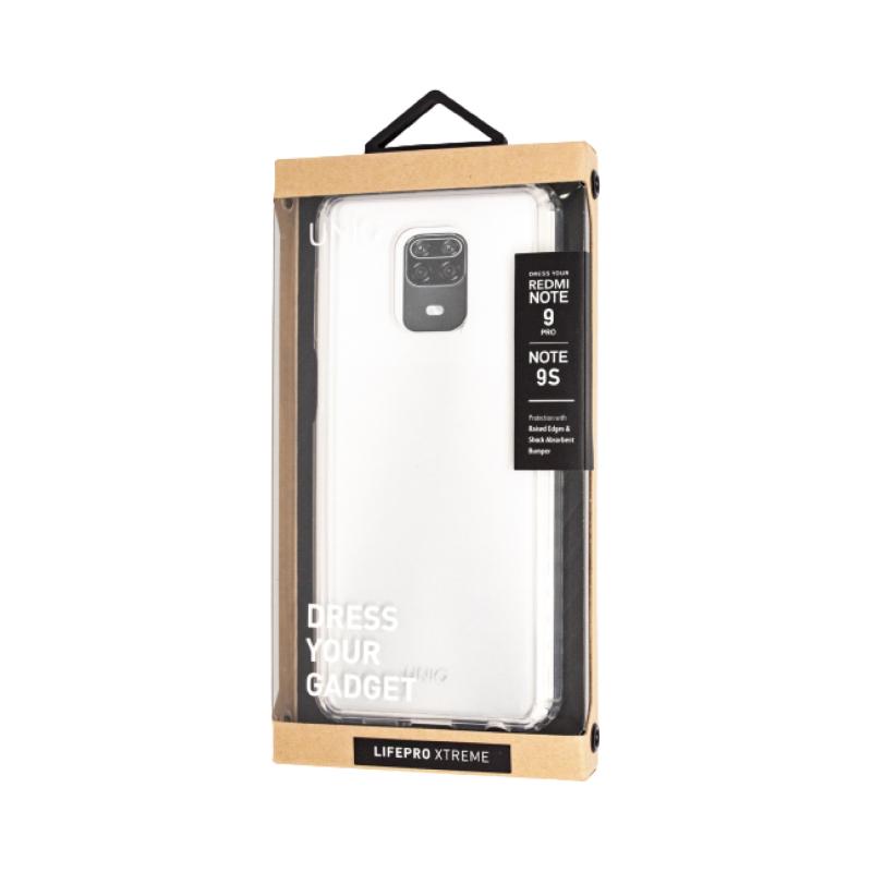 Чехол Uniq LifePro Xtreme Clear для Xiaomi Redmi Note 9 Pro/9S чехол activ для xiaomi redmi note 9s redmi note 9 pro full original design grey 119458