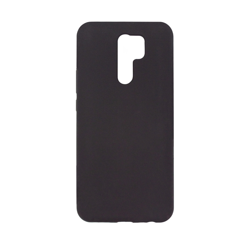 Liquid Silicone Hard для Xiaomi Redmi 9 (черный)