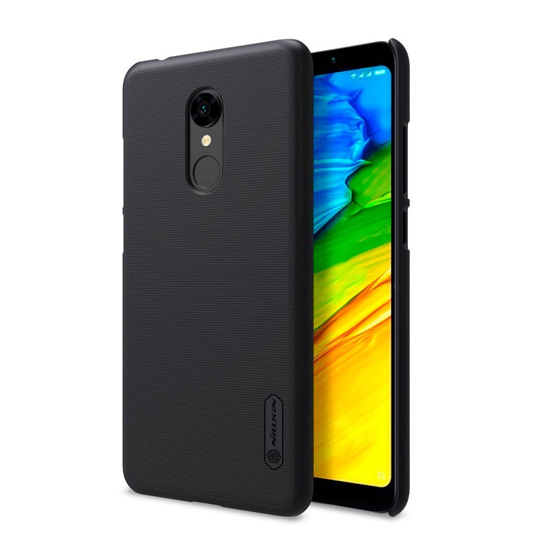 Чехол Nillkin Super Frosted Shield для Xiaomi Redmi 5 Black чехол клип кейс nillkin super frosted для xiaomi redmi 4a черный