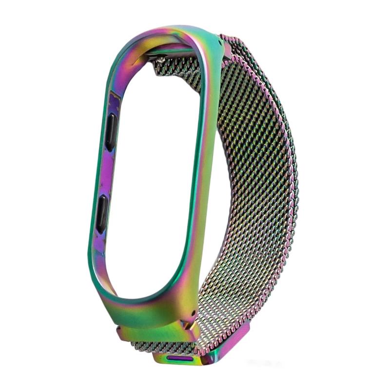 Ремешок для Mi Band 4/Mi Band 3 с магнитом (хамелеон) фото