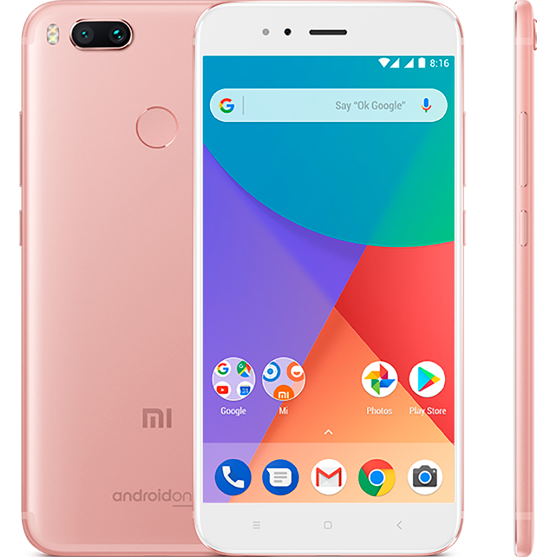 Mi A1 64GB Rose Gold xiaomi mi 5c 5 15inch 3gb 64gb smartphone rose gold
