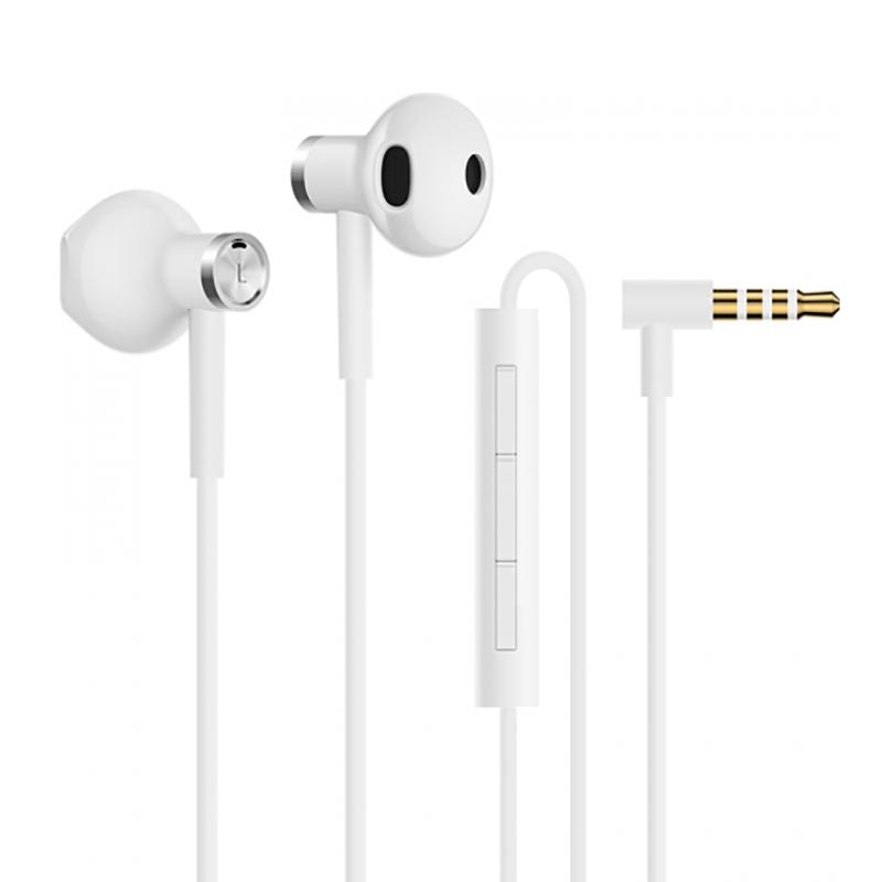 Mi Dual Driver Earphones White mi headphones comfort white