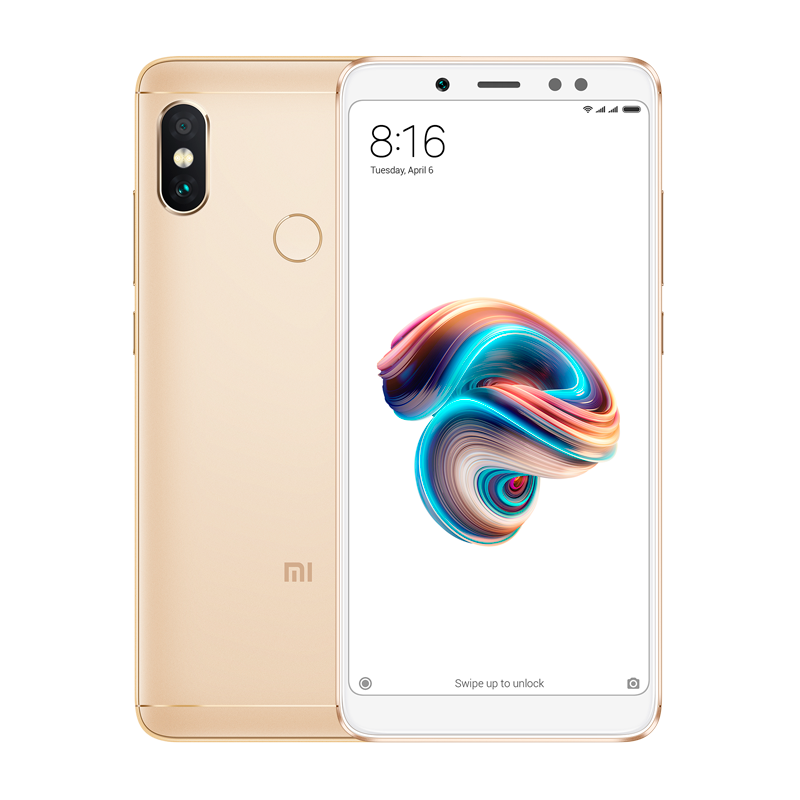 Redmi Note 5 4/64 Gold redmi note 5 4 64 black