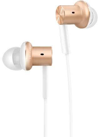 Наушники Mi In-Ear Headphone Pro Gold in ear apple airpods bluetooth earphone wireless headphone headphone with microphone bluetooth earphone in ear