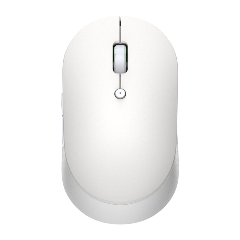 Mi Dual Mode Wireless Mouse Silent Edition (белый) mi portable mouse gold
