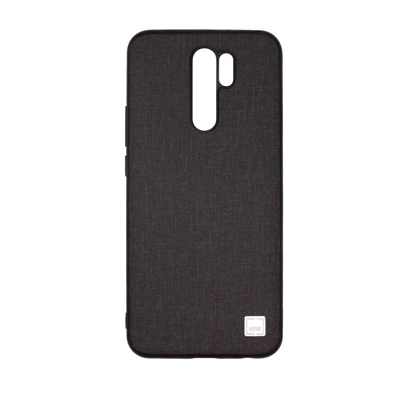 Чехол Uniq Glacier Luxe Kanvas для Xiaomi Redmi 9 (черный)