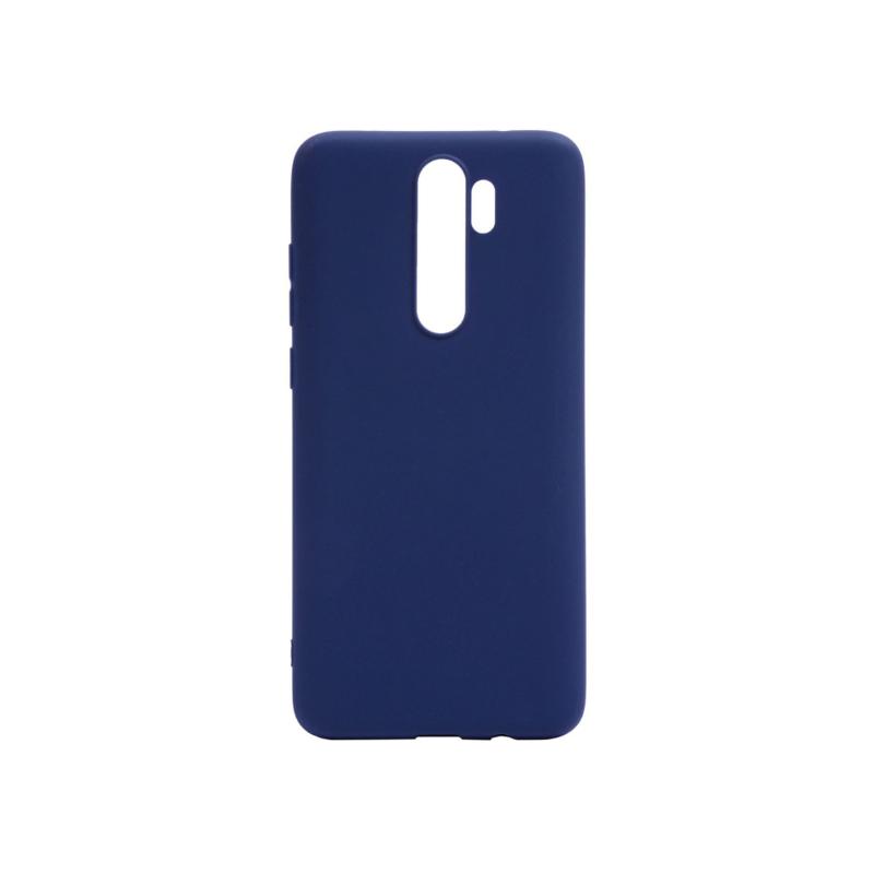 Rubber TPU для Xiaomi Redmi Note 8 Pro (синий)