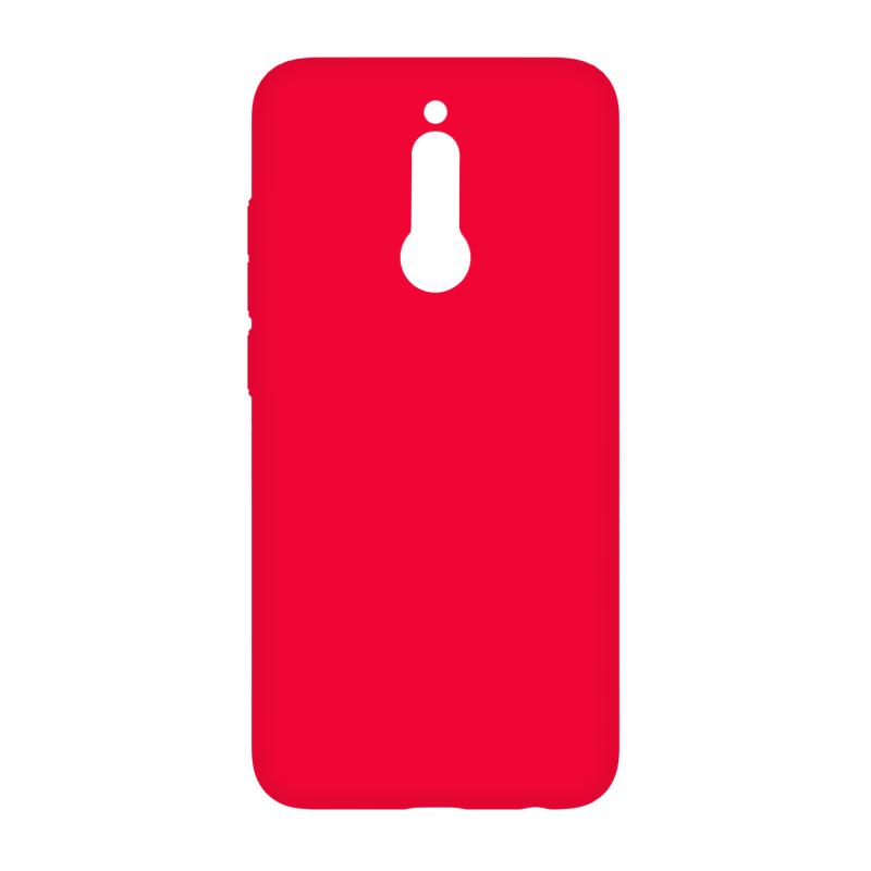 BoraSCO Soft Touch для Xiaomi Redmi 8 (красный)