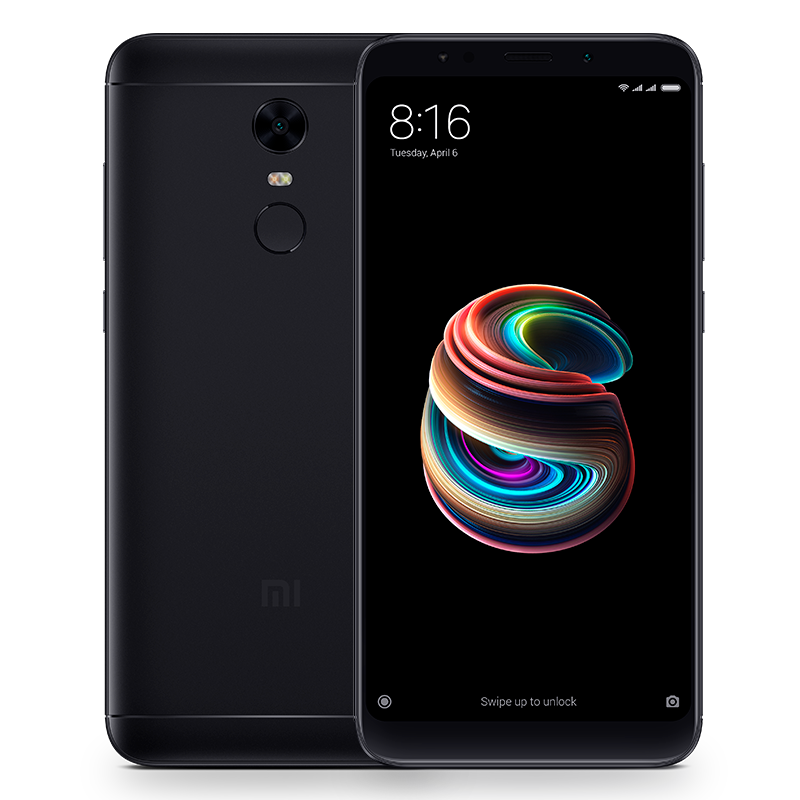Redmi 5 Plus 4/64GB Black телефон xiaomi mi5s plus 64gb золотой