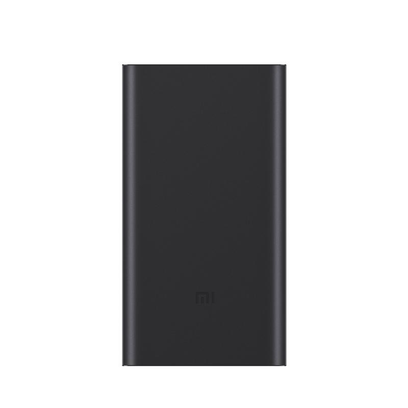 Внешний аккумулятор Mi Power Bank 2 10000 мАч (черный) внешний аккумулятор df dual 01 10000 мач черный