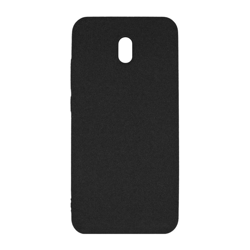 Fluff TPU Hard для Xiaomi Redmi 8A (черный)