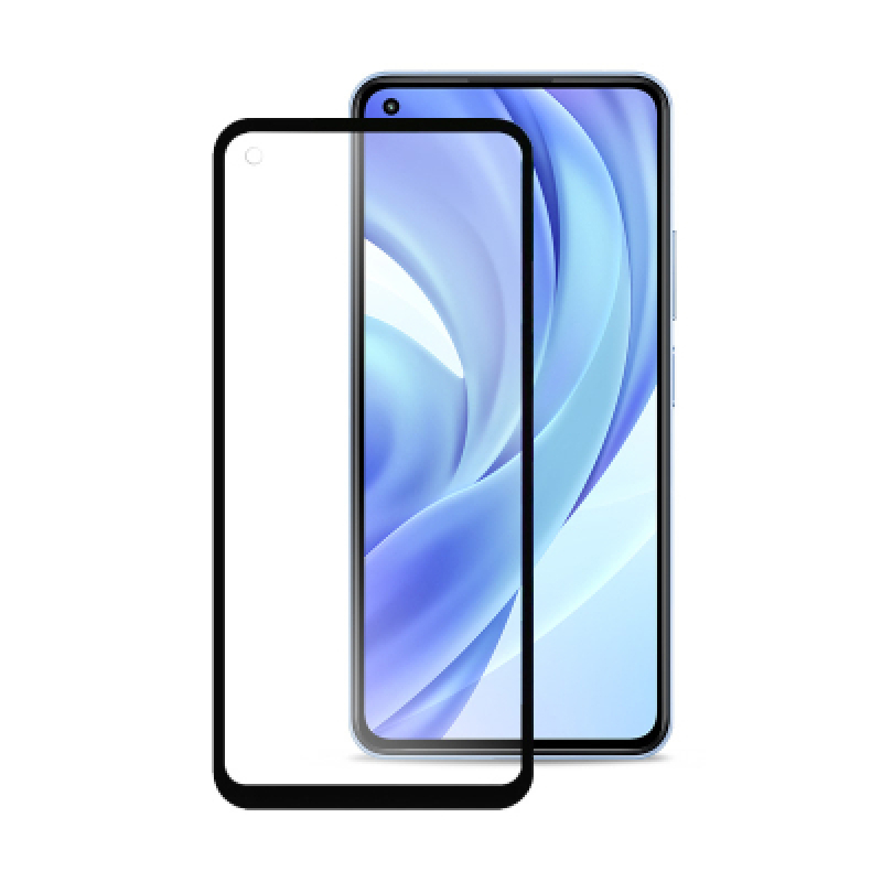 Фото - Защитное стекло BLUEO BLUEO 2,5D Silk Full Cover HD для Xiaomi Mi 11 Lite (черная рамка) защитное стекло blueo blueo 2 5d silk full сover hd для xiaomi redmi note 10 pro черная рамка