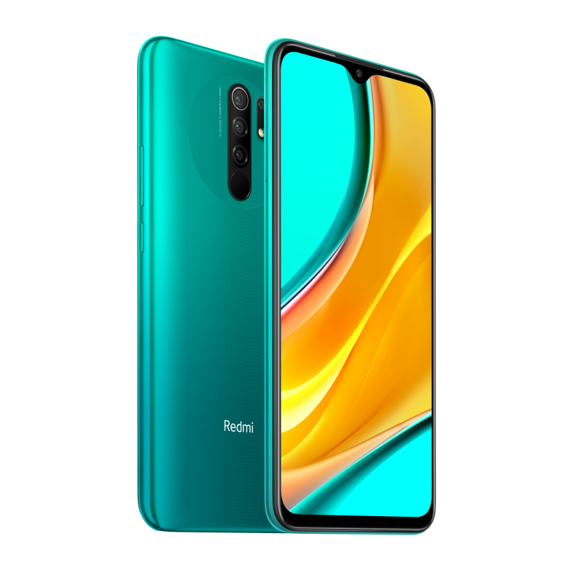 Redmi 9 4/64GB (зеленый) фото