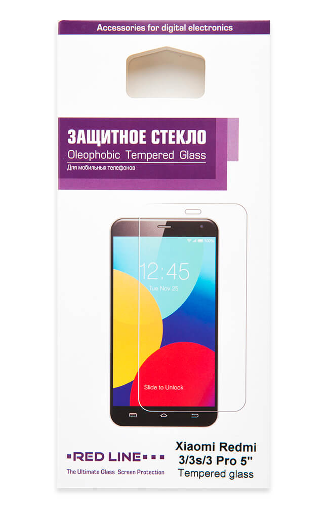 Защитный экран Xiaomi Redmi 3/3s/3 Pro 5 tempered glass rp022 5 3 3