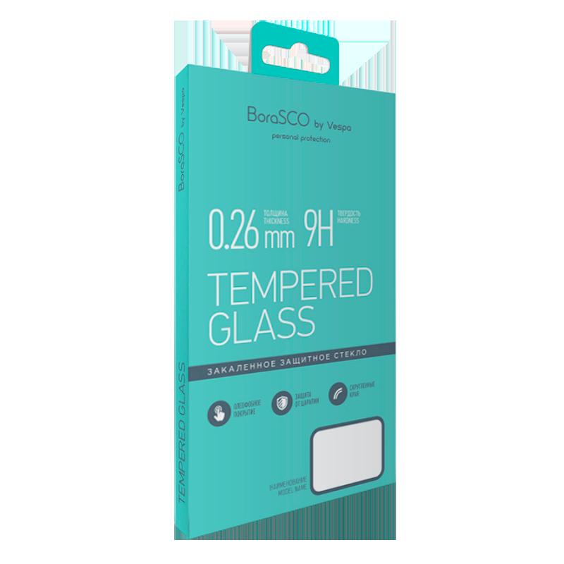Защитное стекло BoraSCO 0,26 мм для Xiaomi Mi A1 защитное стекло borasco 0 26 мм для lg k8 2017 x240