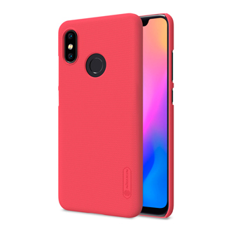 Защитный чехол Nillkin Super Frosted Shield для Xiaomi Mi 8 Red