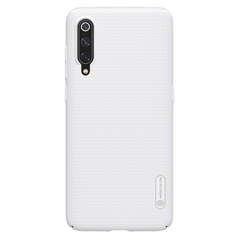 Защитный чехол Nillkin Super Frosted Shield для Xiaomi Mi 9 White защитный чехол nillkin super frosted shield для xiaomi mi a2 white