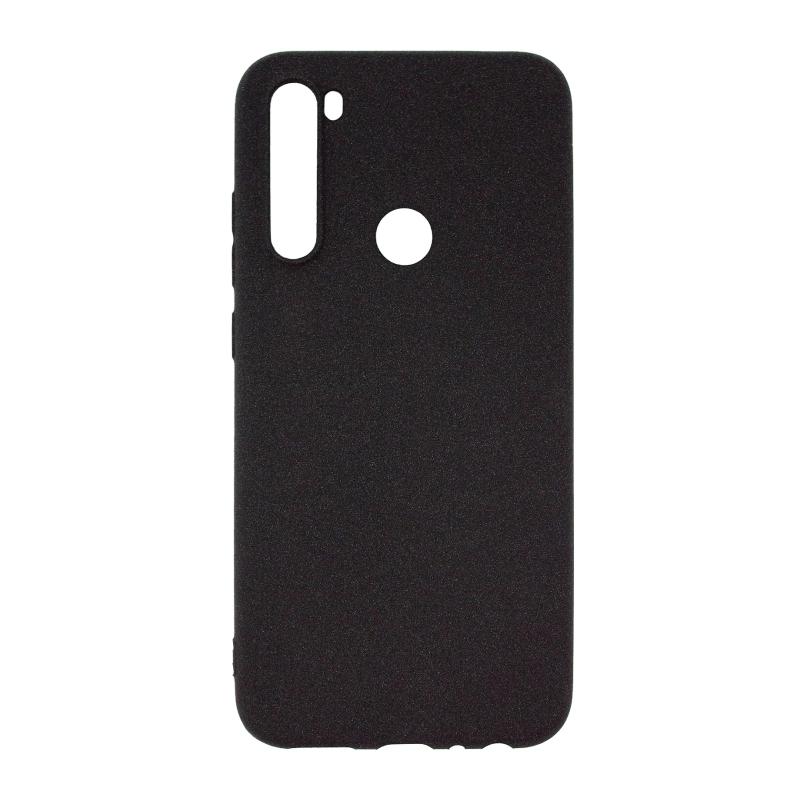 NewLevel Fluff TPU Hard для Xiaomi Redmi Note 8T (черный) фото