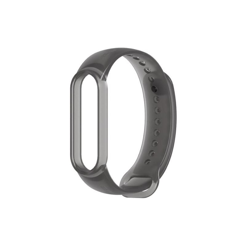 для Xiaomi Mi Band 5 Transparent (черный)